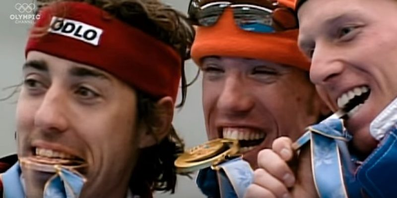 Why Do Olympians Bite Their Gold Medals? [video]