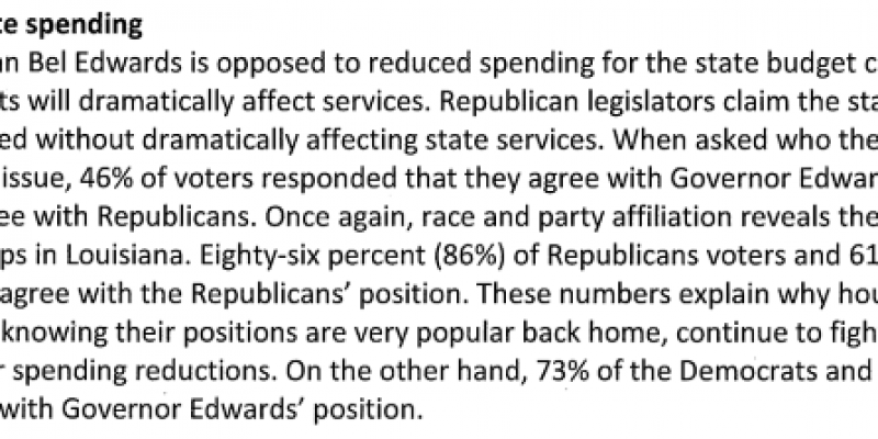 reduced state spending
