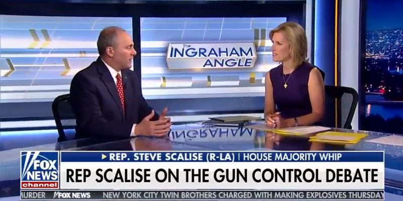 VIDEO: Scalise On Laura Ingraham Last Night Discussing Parkland, Prayer And Immigration