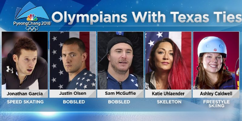 Meet these Five Winter Olympians with Texan Ties