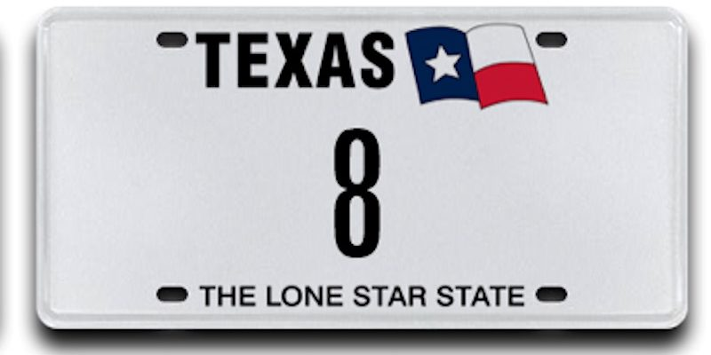 INSANE: This TX License Plate Sold for Almost $35K