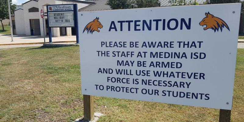 Medina Texas School District: No Gun Violence Because …