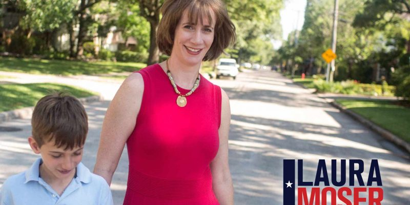 Democratic Laura Moser Running for Texas' 7th District Says She'd 'Rather Have Teeth Pulled Out Than Live in Paris, TX'