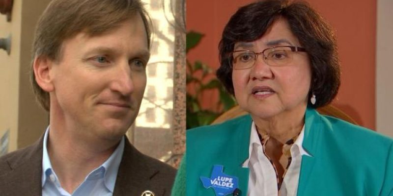Democrats in Texas Gov. Run-off Election are Sanctuary Sheriff and pro-choice Church Elder