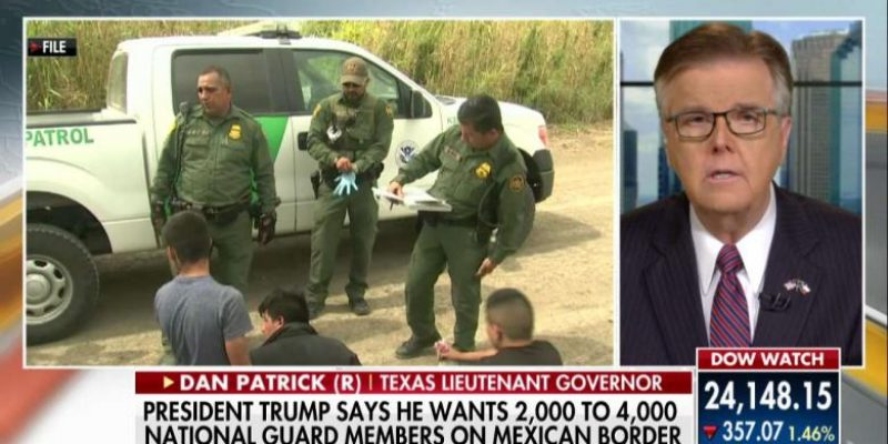 """Only in Texas: National Guard will stay at border """"until hell freezes over"""" [video]"""