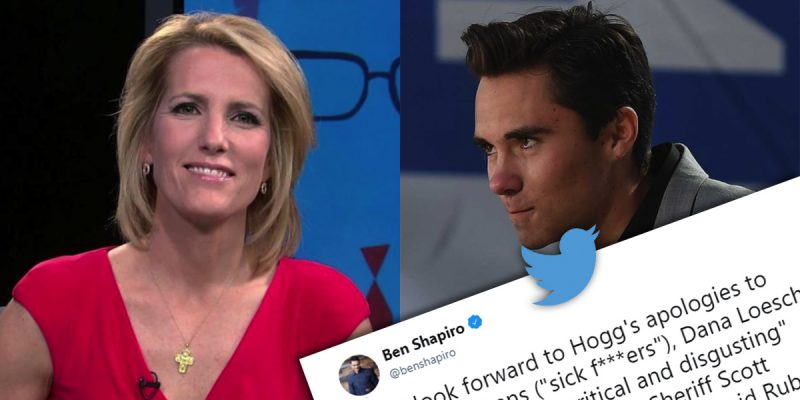 What the media won't tell you: Ingraham rating high after Hogg insanity, now he's going after Smith & Wesson