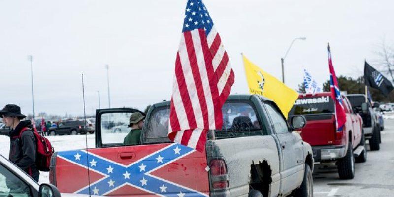 Confederate Flag Demonstrators Cause School Closure