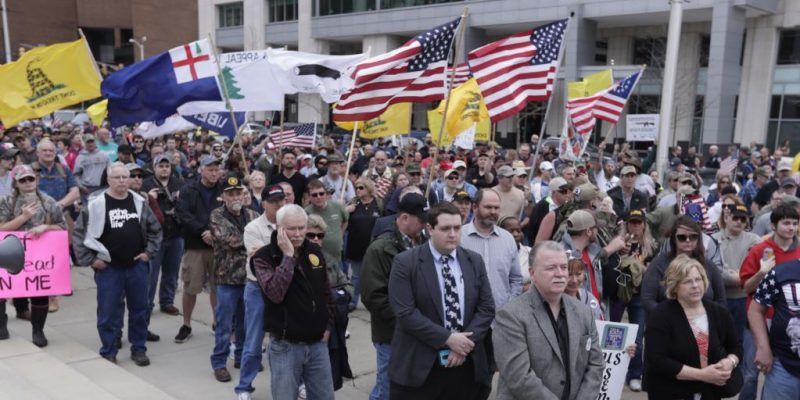 Defending The 2nd Amendment: Gun Rights Supporters Rally At State Capitols Around Nation