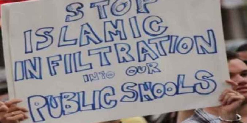 Sign the petition: No Islam in Public Schools