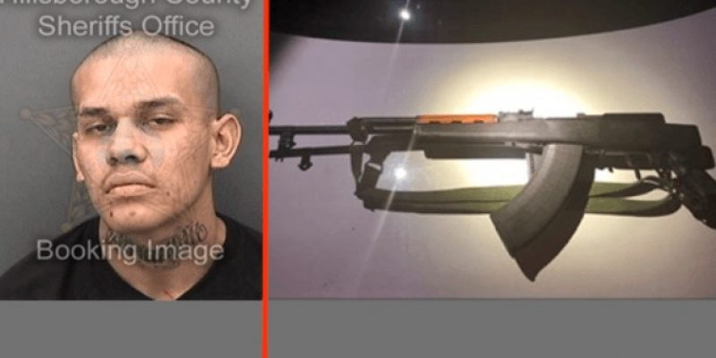 Insanity: MS-13 gang member, felon, wielding illegal rifle in Florida traffic