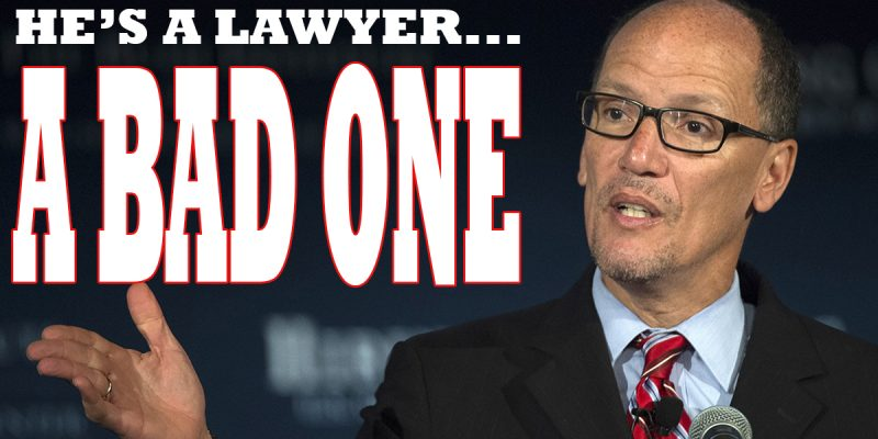 Tom Perez Is A Lawyer, So One Wonders Why On Earth He'd Have The DNC Sue Wikileaks…