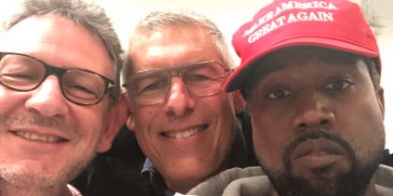 "Way to go Kayne West: MAGA, ""Trump is my brother"""