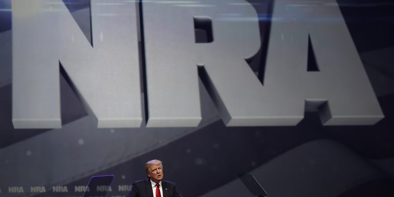 NRA Convention: Trump Delivers Campaign-Style Speech To Record Crowd