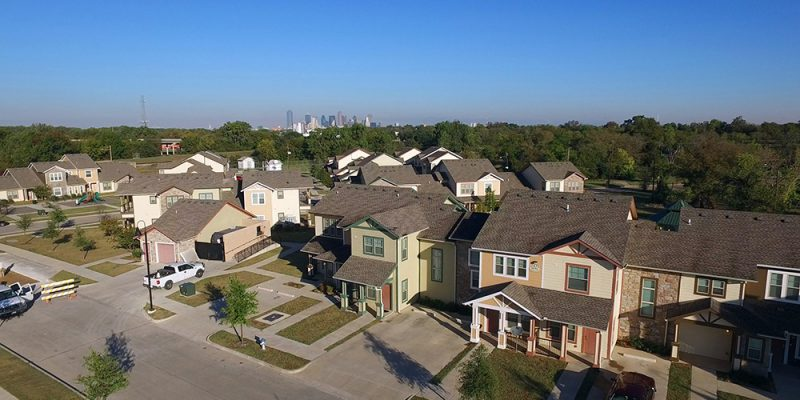 Dallas City Council Building 20,000 new homes to attract middle class