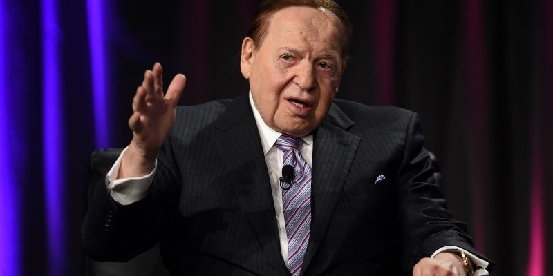 Sheldon Adelson Donates $30M To Stop Democrats, Protect Republicans