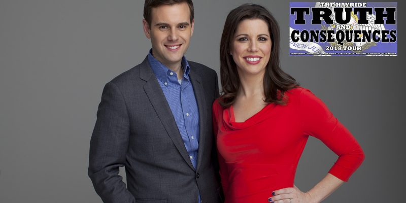We're Only Nine Days Away From The Hayride's Metairie Dinner Featuring Guy Benson And Mary Katharine Ham!