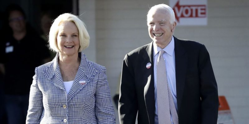 Cindy McCain Rumored To Succeed Husband In Senate