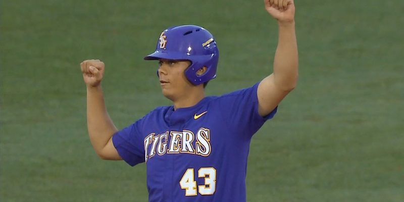 VIDEO: LSU's Todd Peterson Makes The 2018 Season All Worthwhile