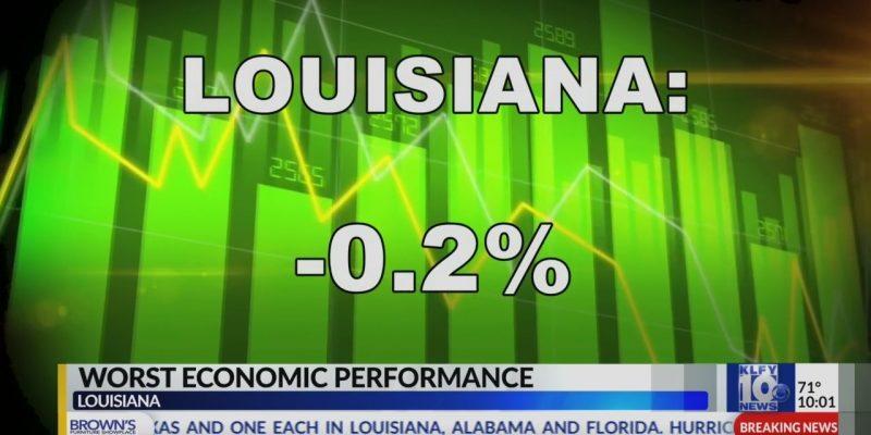 NEW STUDY: Louisiana America's Worst Economy