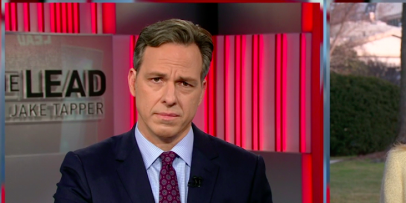 CNN's Jake Tapper Has Lost Nearly 1/3rd of His Audience