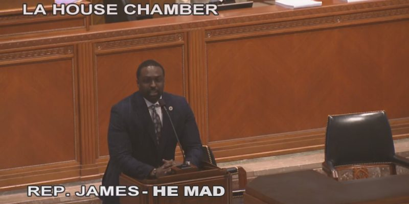 BREAKING: Ted James Gets Angry At The Hayride, Takes To House Floor To Blow Up Special Session