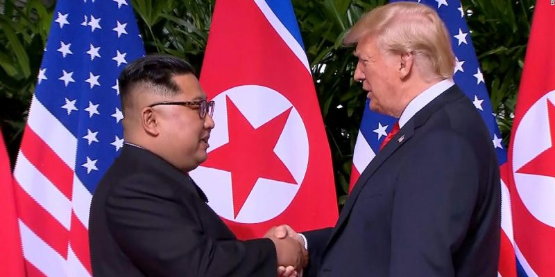 trump and kim singapore