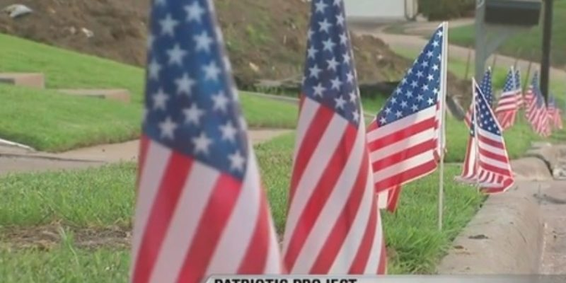 40,000 flags to fly in Irving on July 4th