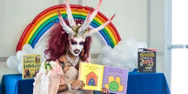 Say it ain't so: Drag Queen Hour at the Local Library