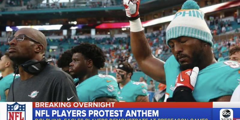 CROUERE: The NFL's Kneeling Millionaires Are Still At It