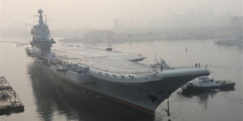 China Advances Goal Of Aircraft Carrier Fleet
