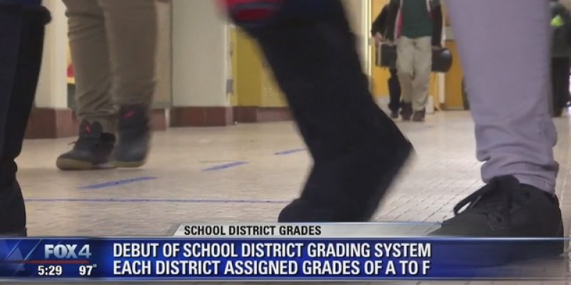 Texas school districts receive first official A-F grades