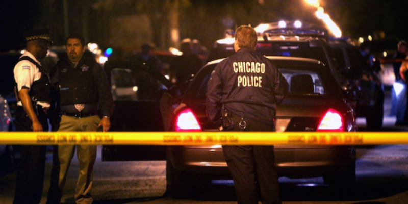 63 people shot this weekend in Chicago, 40 people in 7 hours alone … and this is good news