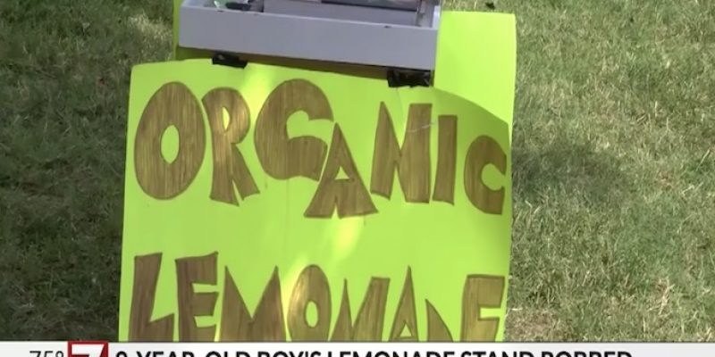 Pathetic: Lemonade stand robbed at gunpoint, police asking for help to identify suspect [video]