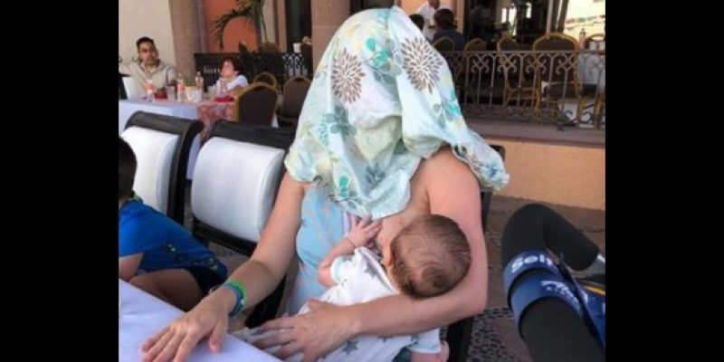Breastfeeding Austin mom's response goes viral