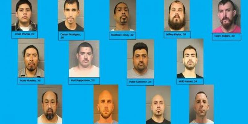 Houston sting operation arrests 13 sex offenders in undercover operation