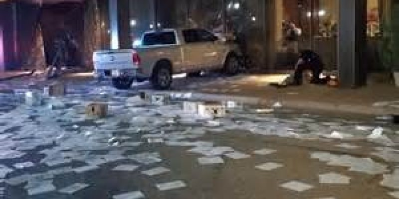Truck Intentionally Rammed Into Conservative News Studio