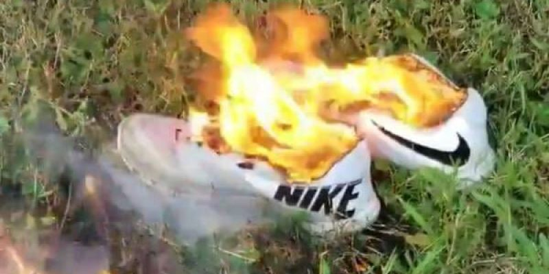 Americans launch boycott against Nike, burning shoes campaign goes viral
