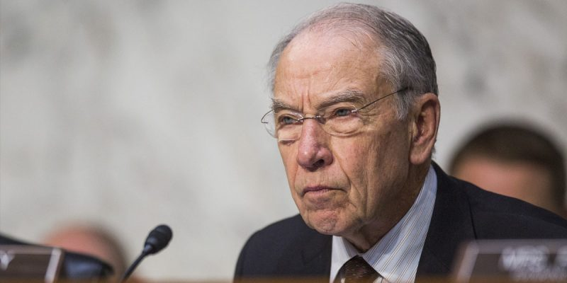 Grassley's Letter To Christine Ford's Attorney Just Laid Down The Law, And We Like It Fine