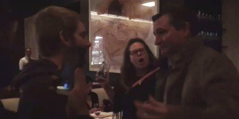VIDEO: Anti-Kavanaugh Fascists Chase Ted Cruz Out Of A Washington Restaurant