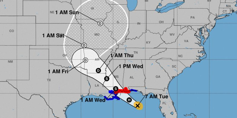 WAITING FOR GORDON: The National Hurricane Center's 7 AM Forecast