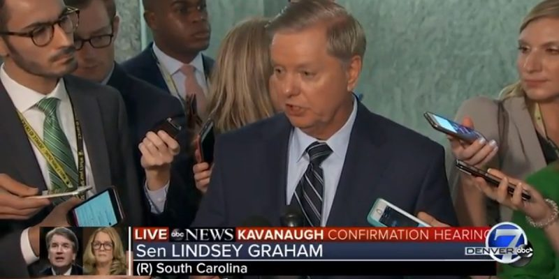 VIDEO: Lindsey Graham GOES OFF On Democrats For Their Handling Of The Ford Allegations