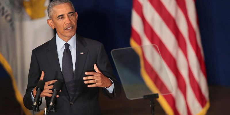 HOLTON: Barack Obama's Back, And He's Still Full Of It