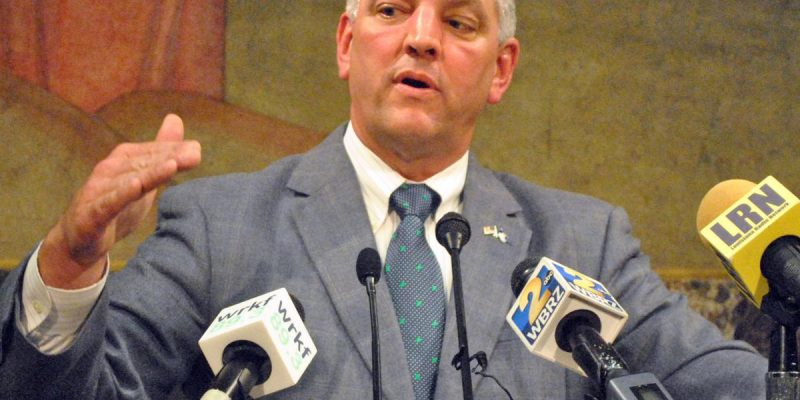 Edwards insists $300M state budget surplus has no bearing on sales tax hike