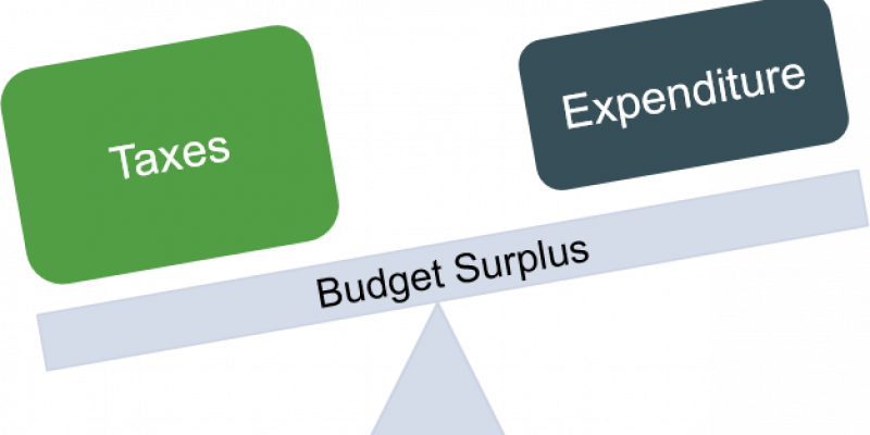 Where did Louisiana's $300 million budget surplus come from?
