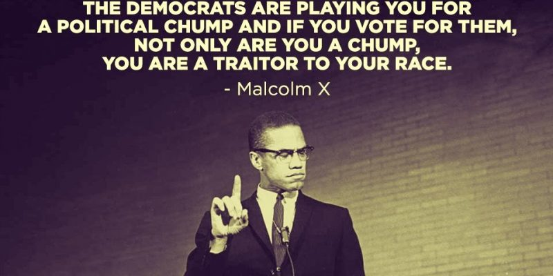 This is what Malcolm X had to say about Negroes and Democrats [audio]