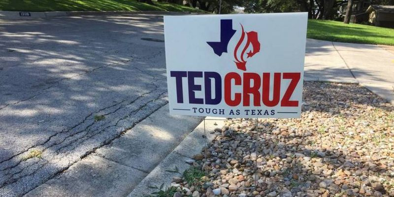 Why Didn't Ted Cruz Race To Match Beto O'Rourke On Yard Signs? Here's Why…