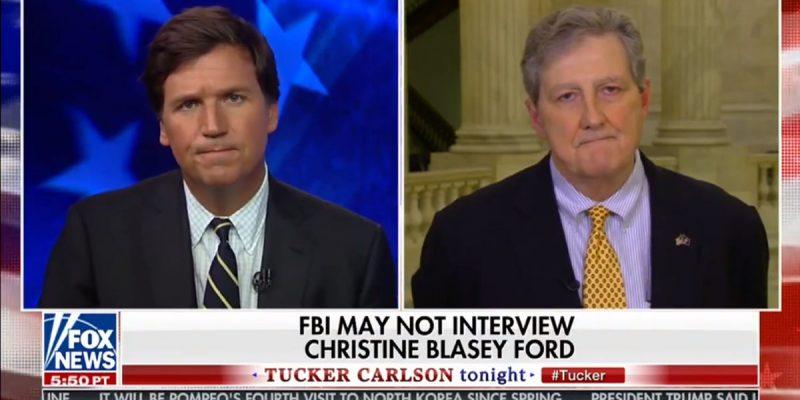 VIDEO: Kennedy On Tucker Carlson Talks Kavanaugh, Anti-Gun Banks
