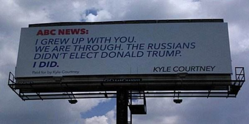 """Texas man sets record straight on """"Russia hoax"""""""
