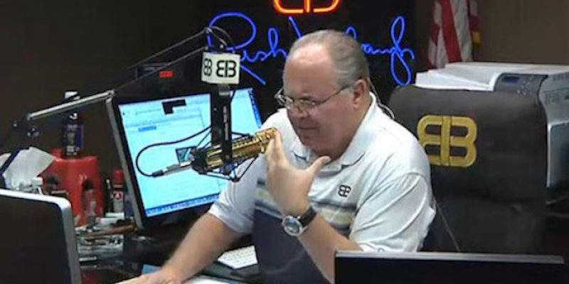 BREAKING: Rush Limbaugh Announces Advanced Lung Cancer Diagnosis