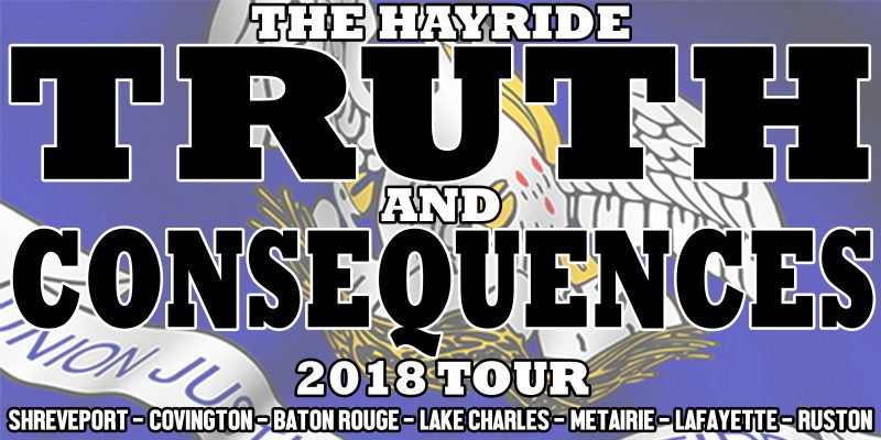 The 2018 Hayride Truth And Consequences Tour Finale Is Set For Nov. 8